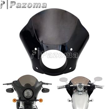 Gauntlet Headlight Fairing W/Trigger Lock Mount Kit for Harley Sportster 883 1200 Custom Iron Low 1986-2015