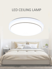 Simple modern bedroom led ceiling lamp, living room balcony acrylic round lamp Ligh 220Vting Fixture