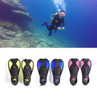 Hot High Quality Summer Swimming Fins Short Flipper Diving Flippers Silicone Portable Comfortable Diving Equipment Dropshipping