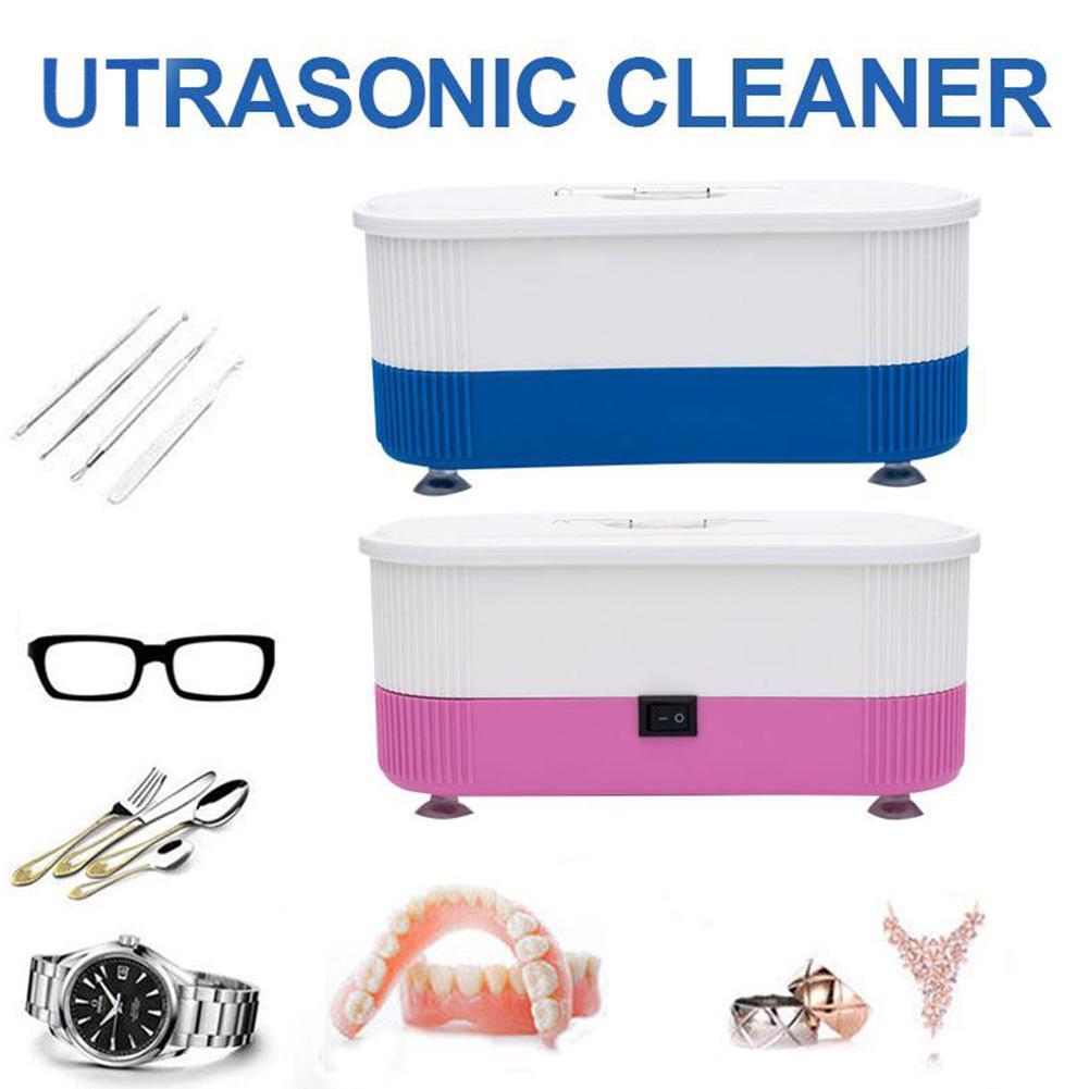 XY Fancy ZOO Portable Mini Eyeglass Cleaning Machine Ultrasonic Cleaner For Jewelry Watch Glasses Washing  Random