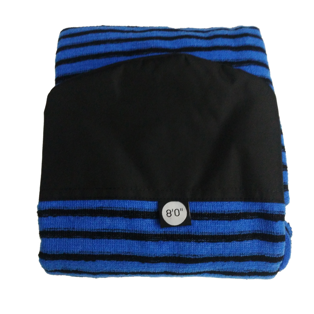 8ft Quick dry Surfboard Sock Knit Surf Sock Stretch terry surfboard bag