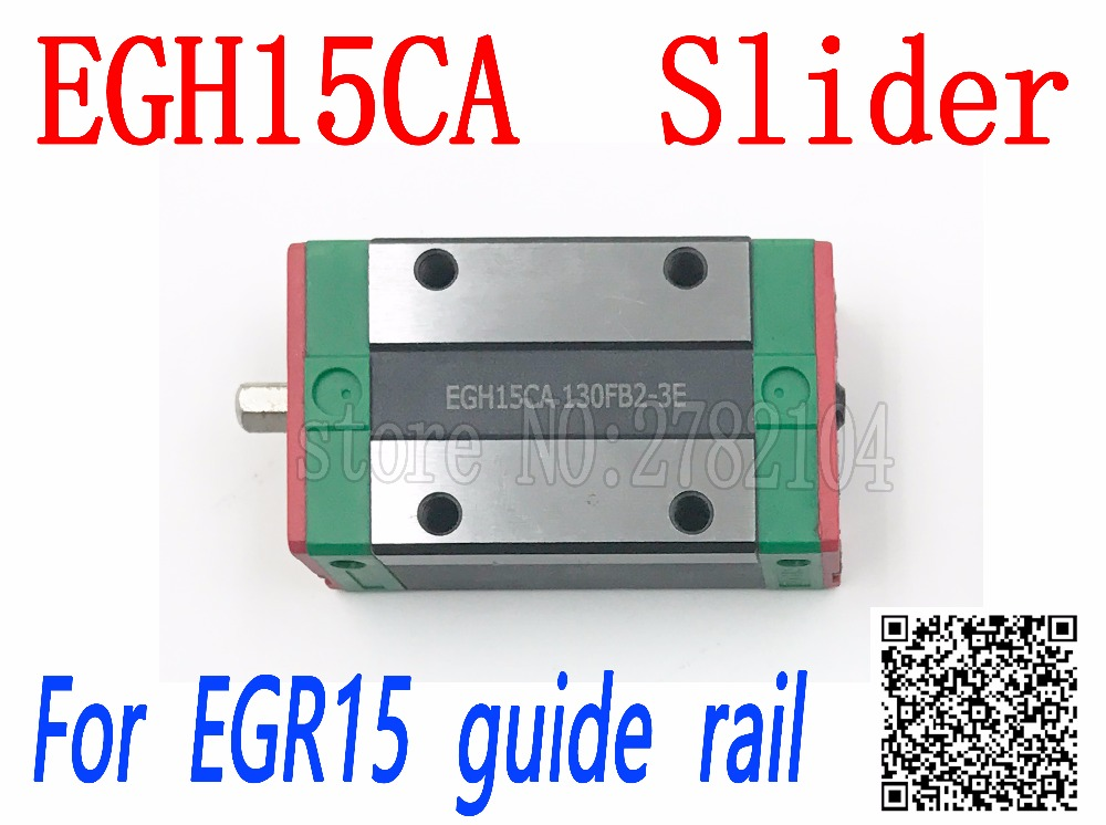 Free shipping 1pcs EGH15CA or EGH15SA Linear Guide Block EGH15 CA for EGR15 linear rail CNC diy parts high quality EGW15 linear guide rails hgh hgl egh15 20 25 30 35 sa ha ca