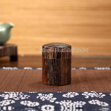 50ml Capacity Eco-Friendly Damp-proof Tea Caddy Tea Canister with Feather Wood Burning Process  technical reference From Japan