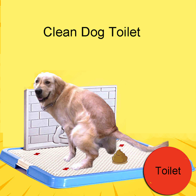 Puppy Grooming Toilet  Dogs Training Pet Health Potty Clean Dog Poop Scooper Chiens Ramasse Merde Pets Supplies 90Z1861