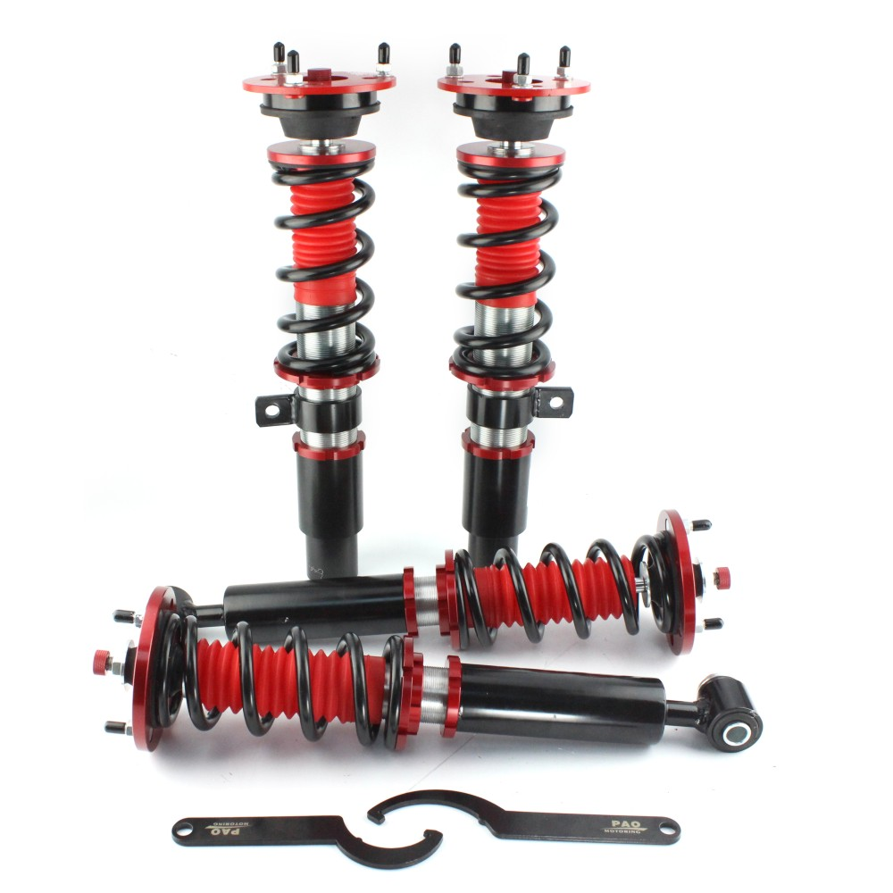 36 niveau ajuster amortisseur hauteur Coilovers Suspension À Ressorts Ressort amortisseur Airmatic pour BMW E60 Série 5