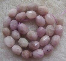 """12x16mm Kunzite naturel facetté forme libre perles en vrac 15.5"""""""