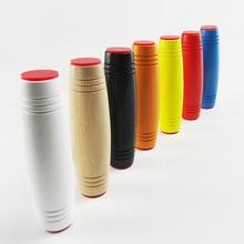2018 Mokuru flip stick toy Japanese Rollver Desktop decompression wood roll Improve Focus Great for Stress Relieve