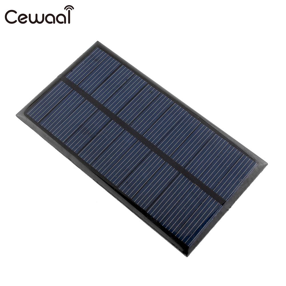 <font><b>1W</b></font> <font><b>Solar</b></font> <font><b>Panel</b></font> for DIY Chargers <font><b>6V</b></font> Power image