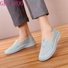 GKTINOO Women Flats Shoes Woman Loafers
