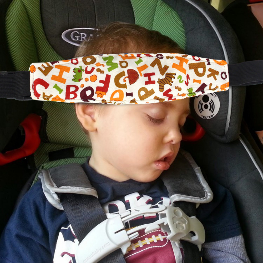Baby Safety Stroller Car Seat Sleeping Aid Head Support Holder Belt Accessories
