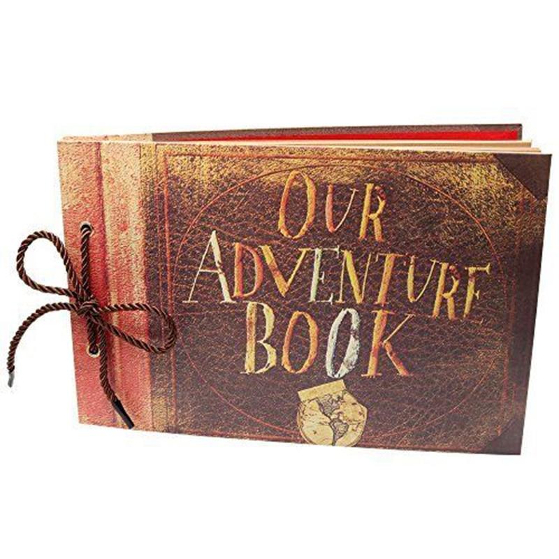 Our Adventure Book Photo Albums Scrapbook My Adventure/story Photo Albums Book Loose-leaf Wedding Travel Kid's Album