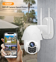 WIFI Camera Outdoor PTZ IP Camera CCTV Security Cameras IP Camera WIFI Exterior 2MP Home Surveilance Security 100ft Night Vision