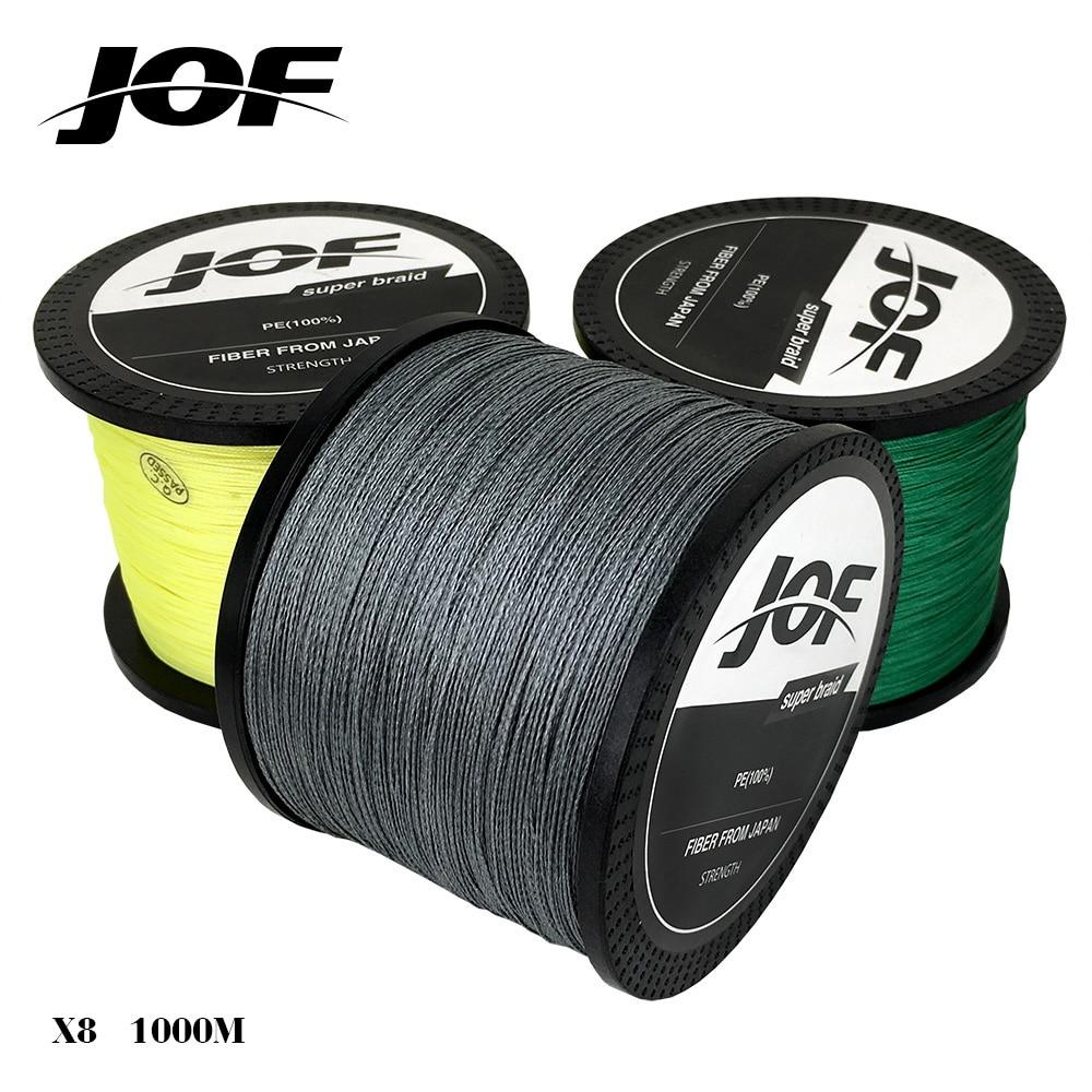 1000m 8 strands Green/Yellow/Gray PE Braided Fishing <font><b>Line</b></font> Fishing Tackle lure 15LB 20lB 30LB 40LB 50LB 60LB 80LB