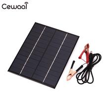 5.5W 12V Solar Panel Portable Mini Panel System Panels For Battery Cell Phone Chargers Portable Solar Cell стоимость
