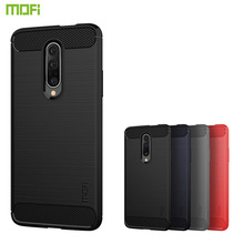 MOFi For OnePlus 7 Pro Case Luxury Carbon Fiber Anti-drop TPU Soft Cover Cases For OnePlus 7 Pro Back Cover mofi for huawei nova 5 pro case luxury carbon fiber anti drop tpu soft cover cases for huawei nova 5 pro back cover