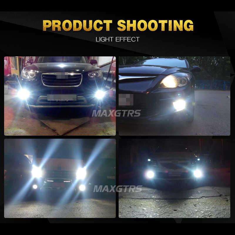 2X H7 LED H1 H3 H4 H11 H8 H9 H16(JP) 9005 HB3 9006 HB4 880 881 Car Led Headlights 6000K 60W 8000LM Lights Driving Lamps Bulb