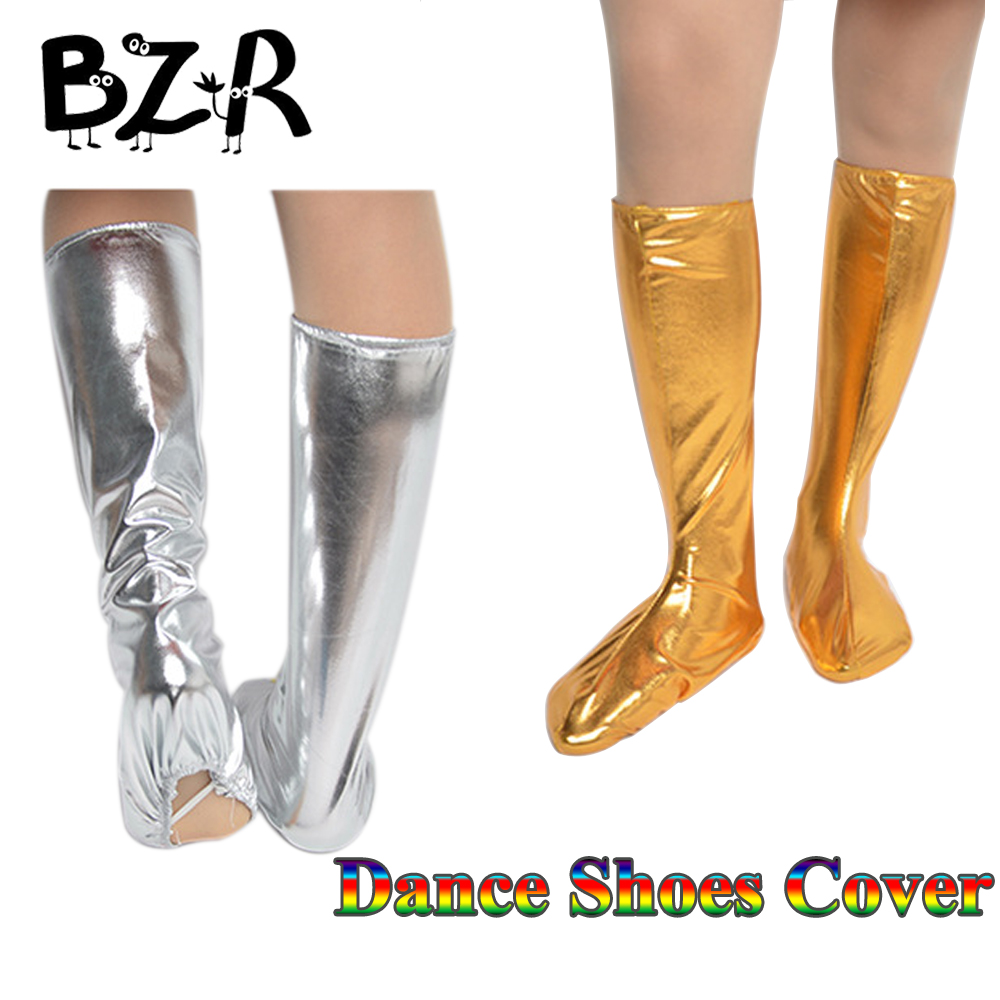 Bazzery Flexible Children Dancing Shoes Covers Performance Clothing Kids / Adult Dance Accessories Unisex Jazz Dance Foot Covers