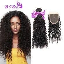She S Hair Brazilian Cheap Curly Virgin Hair Bundle Deals With Closure Brazilian Virgin Human Hair