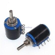 2 шт./лот WXD3-12 1 Вт 3K3 3,3 K Ом WXD3-12-1W 5 кольцо многоточный прецизионный проволочный потенциометр