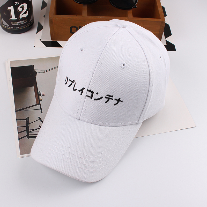 Fashion Solid Color Cherry Bloom Pattern Head Cap for Unisex Black One Size