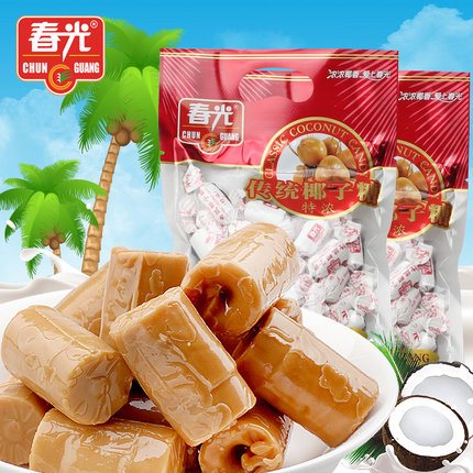 250g Chinese candy CHUN GUANG classic thick coconut candies
