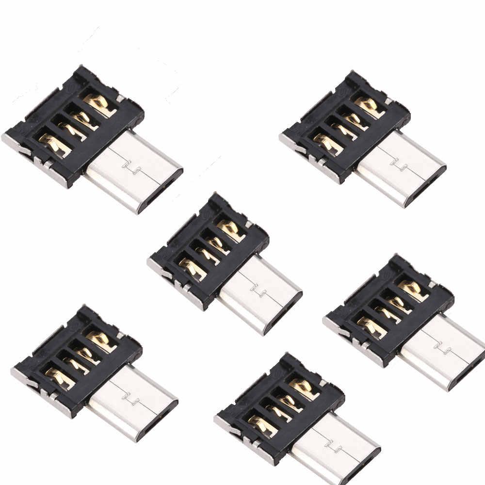 5000 ピース/ロットテストミニマイクロ USB に USB コネクタ OTG ケーブル USB OTG アダプタ usb フラッシュドライブタブレット PC サムスンの Android
