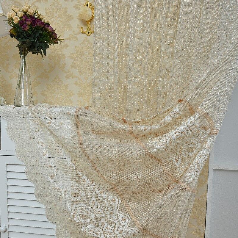 Neue europäische Luxus Spitze Tüll Vorhänge für Wohnzimmer - Haustextilien - Foto 2