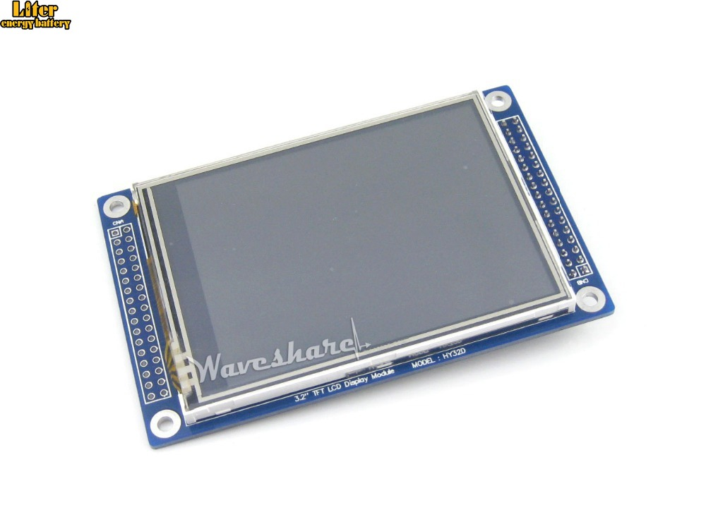 5pcs/lot 3.2 Inch 320*240 LCD Display Module Multicolor Graphic XPT2046 With Touch Screen Stand-alone Controllers