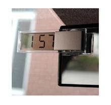For Sucker transparent LCD car digital electronic clock / auto electronic form