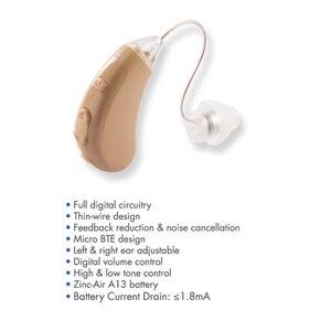 Image 2 - 904 Aparelho Auditivo regulowany cyfrowy aparat słuchowy Mini aparaty słuchowe urządzenie chiny tanie wzmacniacz dźwięku do ucha