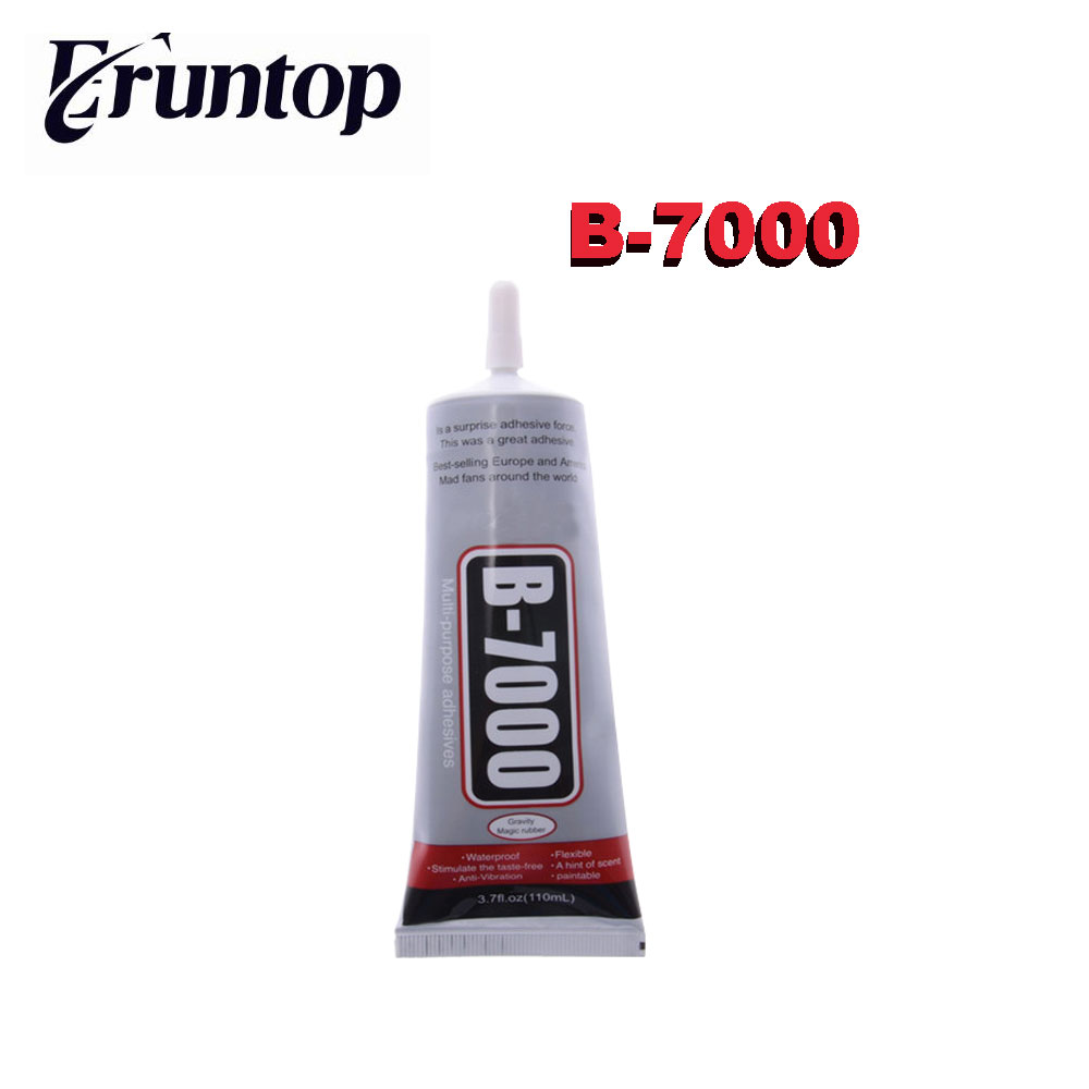5PCS B-7000 Industrial Strength Glue Adhesive 110ml 3.7fl.oz For Jewelry Nails Glass b7000super glue sealat 50ml multipurpose b 7000 adhesive epoxy resin diy jewelry crafts glass touch screen phone repair nail gel