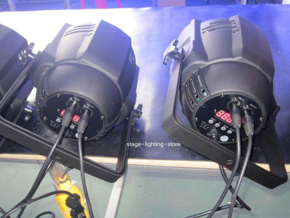 Doprava zdarma: 2PCS 54 * 3W PAR LED RGBW jevištní osvětlení jeviště