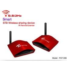PAT-556 5.8G Wireless AV Smart Swtich Audio Video Transmitter Receiver Sender + IR Extended For Android Cable Satellite IPTV Box