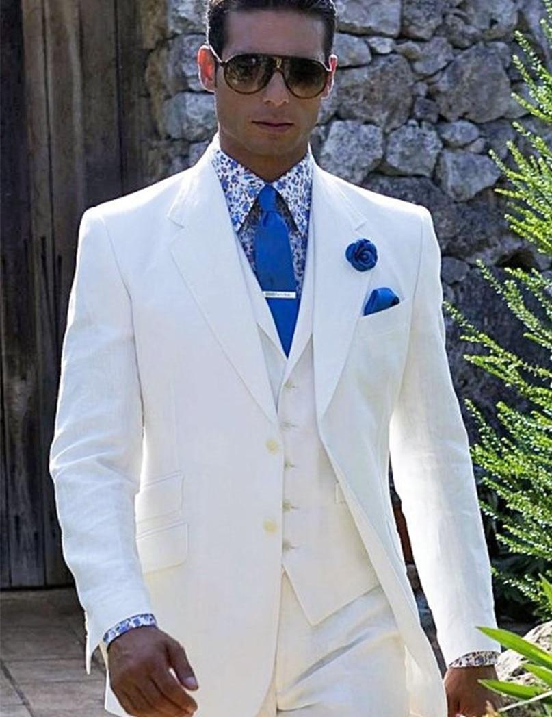 Wedding Mens Wedding Tuxedos aliexpress com buy white wedding tuxedos for mens tuxedo suits men groom wear three piece free shipping 2015 from re