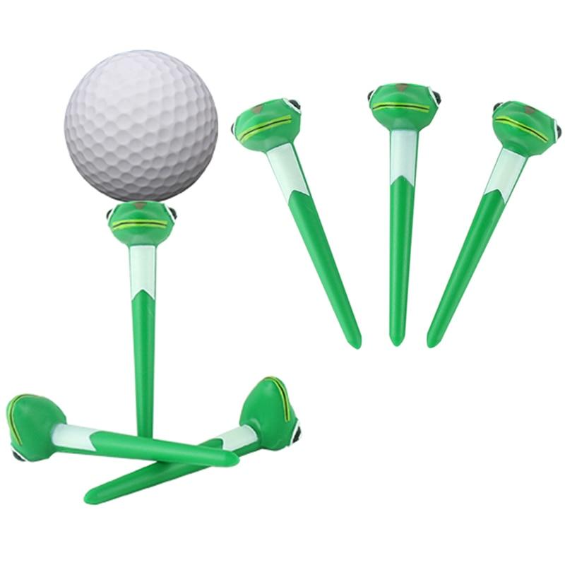 Golf tee plastic Multi-function golf tees Frog shape golf tees free shipping
