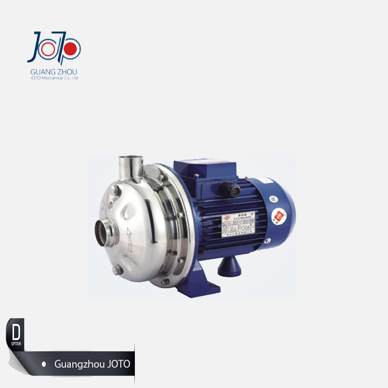 WB70/075D 220V 50Hz Single Phase Stainless Steel Centrifugal Water Pump Sanitary Pump Beverage Pump Circulating Dishwasher Pump 1 2hp 220v 50hz single phase small stainless steel centrifugal water pump sanitary pump beverage pump dishwasher pump