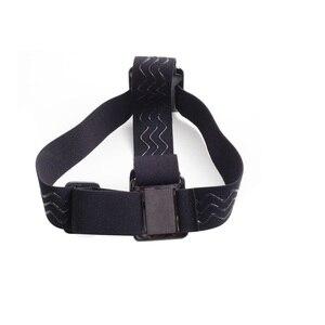Elastische Einstellbare Harness Kopfband Berg Gürtel für GoPro HD Hero 1/2/3/4/5 /6/7 SJCAM Schwarz Action Kamera Zubehör