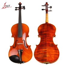 TONGLING Brand High Quality Hand-craft Violin 4/4 20 Years Naturally Dried Stripes Maple Professional Spirit Varnish