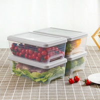 4PCS Refrigerator storage box drawer egg box food storage box home kitchen frozen food plastic storage box WF7111034