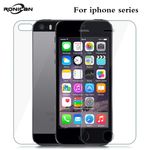 Image 5 - フロントとバックスクリーンプロテクター強化ガラスのための iphone 6 6s 4 4s 7 8 プラス防爆保護フィルム iphone 5 5S 、 SE