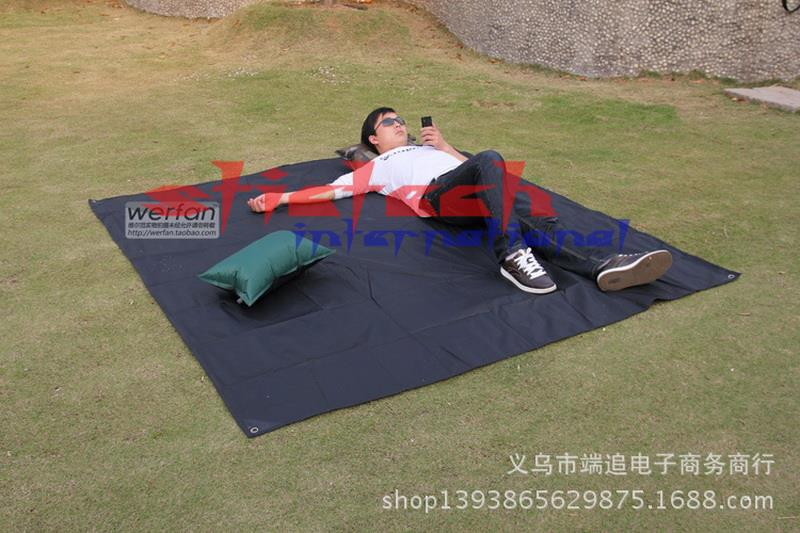 by dhl or ems 100pcs Water Resistant Camping Mat Foldable Moisture proof Pad Waterproof Large Mat