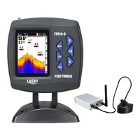 Lucky Wireless Fish Finder With 3 5 Inch LCD Operation Echo Detecting 328ft 100m Depth Underwater