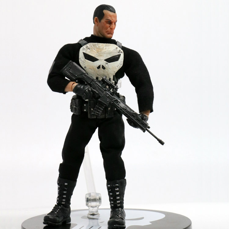 Free Shipping 6 The Avengers Hero Punisher Frank Castle Real Cloth Ver. Boxed 15cm PVC Action Figure Collection Model Doll Toy free shipping 6 comics dc superhero shfiguarts batman injustice ver boxed 16cm pvc action figure collection model doll toy