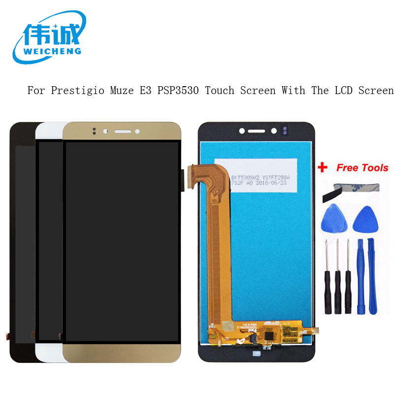 WEICHENG For Prestigio Muze E3 Muze D3 PSP 3530 PSP3531 DUO LCD Display +Touch Screen Digitizer Assembly Replacement  PSP3530Duo