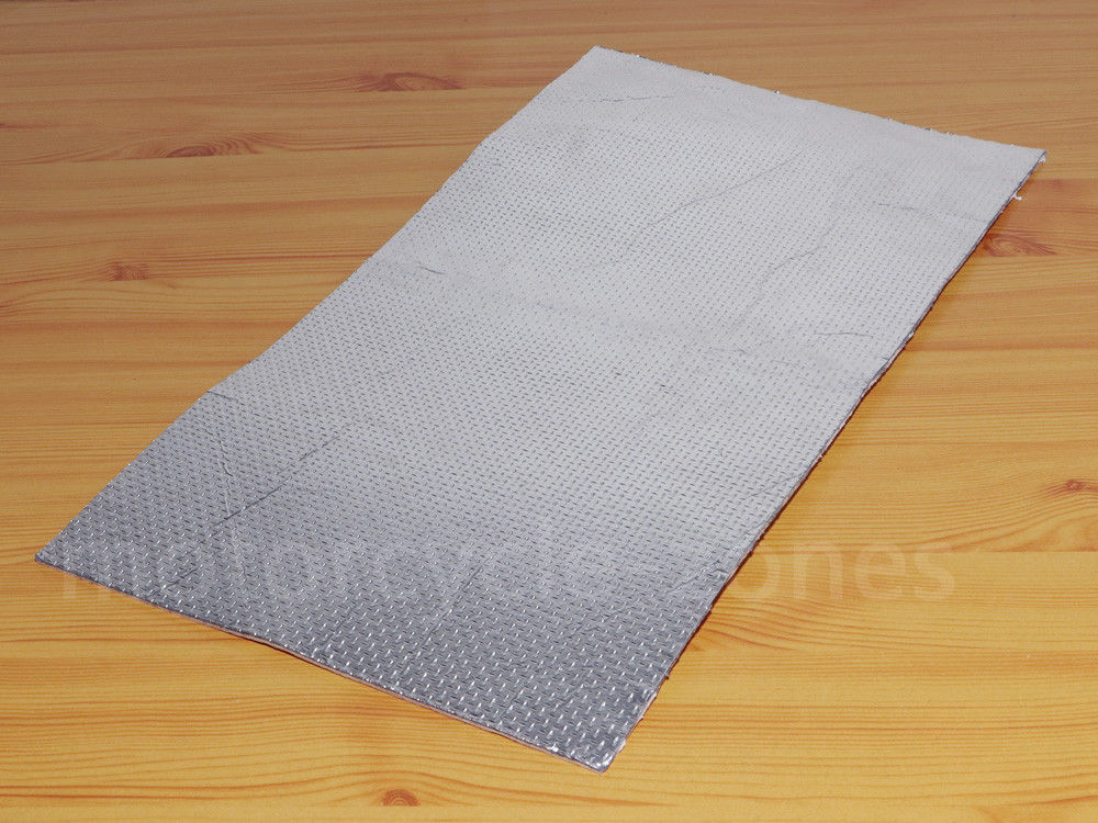 Motorcycle Race Track Fairing Exhaust Engine Heat Shield Self Adhesive Sheet