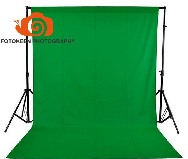 Prix pour 10x10ft Photographie Studio Non-tissé tissu tissu Toile de Fond Fond Chromakey écran vert Tissu fond 4 Couleurs en option