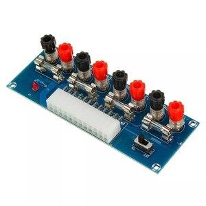 Image 4 - XH M229 데스크탑 pc 섀시 전원 atx 전송 어댑터 보드 전원 공급 장치 회로 콘센트 모듈 24 핀 출력 터미널 24 핀