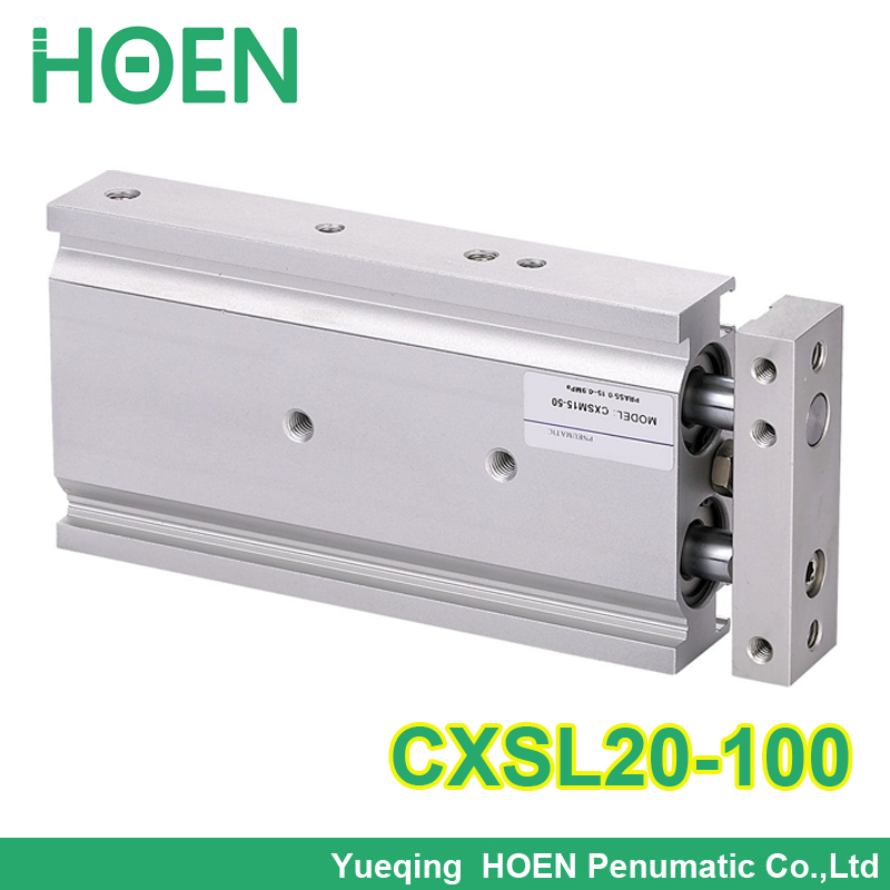 CXSL20-100 SMC Double cylinder air cylinder pneumatic cylinder component air tools CXSL series cxsm25 10 cxsm25 15 cxsm25 20 cxsm25 25 smc dual rod cylinder basic type pneumatic component air tools cxsm series have stock