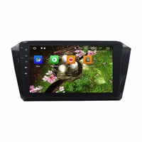 KLYDE 10.1 1 Din 8 Core Android 8.0 Car Radio For VW Magotan 2016 2017 Car Audio Stereo Car Multimedia 32GB DVD Player