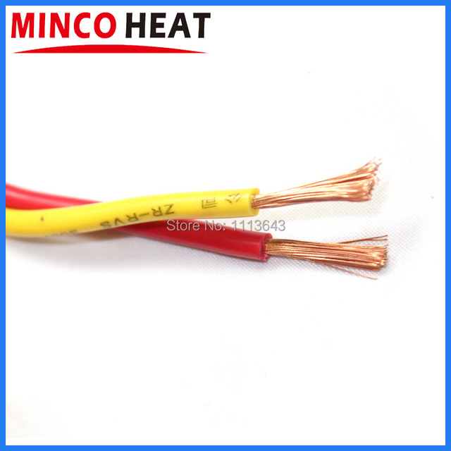 1m RVS Flexible Twisted Wire Pure Copper Electrical Cable Fixture ...